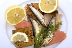 Pescados de miércoles de ceniza Imagen de archivo libre de regalías