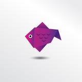 Pescados de Origami Fotos de archivo