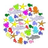 Pescados del bebé Imagen de archivo libre de regalías