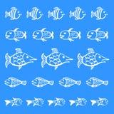 Pescados del fondo Imagen de archivo libre de regalías