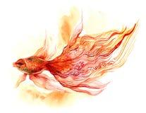 Pescados del oro stock de ilustración