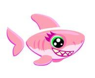 Pescados del tiburón stock de ilustración