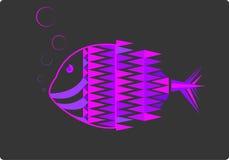 pescados fluorescentes Stock de ilustración