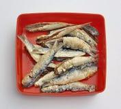 Pescados fritos Imágenes de archivo libres de regalías
