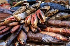 Pescados fumados Fotos de archivo