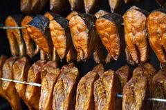 Pescados fumados Imagenes de archivo