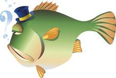 Pescados grandes stock de ilustración