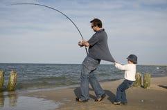Pescados grandes foto de archivo libre de regalías