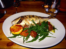 Pescados para la cena Fotos de archivo