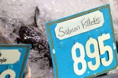 Pescados para la venta en Hong-Kong Foto de archivo