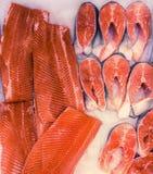 Pescados rojos imagenes de archivo
