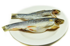 Pescados salados de los arenques fotos de archivo libres de regalías