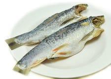 Pescados salados de los arenques imágenes de archivo libres de regalías