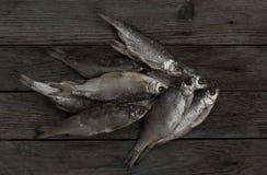 Pescados secados Imagen de archivo libre de regalías