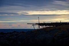 Pescados secos de Lofoten Fotografía de archivo libre de regalías