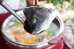 Pescados Sukiyaki Fotos de archivo libres de regalías