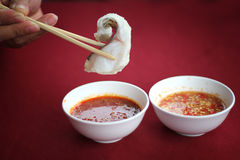 Pescados Sukiyaki Imágenes de archivo libres de regalías