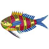 Pescados a todo color del monstruo libre illustration