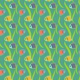 Pescados tropicales ilustración del vector