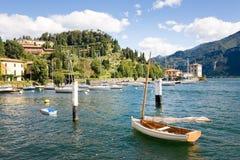 Pescallo港口,贝拉焦,意大利 图库摄影