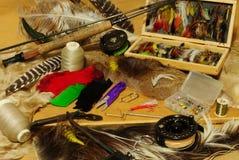 Pescando ainda a vida Fotografia de Stock Royalty Free
