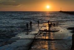 Pescando in Argentina immagini stock