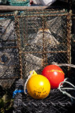 Pescando armadilhas Foto de Stock