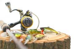 Pescando atrações Imagem de Stock Royalty Free