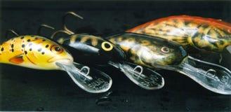 Pescando atrações - wobblers Imagens de Stock Royalty Free