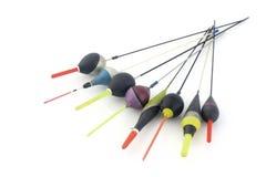 Pescando flutuadores Fotos de Stock Royalty Free