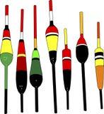 Pescando flutuadores Imagem de Stock Royalty Free