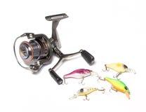 Pescando fontes Fotografia de Stock