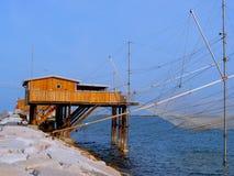 Pescando in Italia Immagini Stock Libere da Diritti