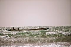 Pescando nell'Atlantico fotografia stock libera da diritti