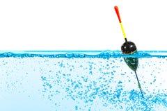 Pescando o flutuador fotografia de stock