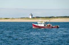 Pescando o ponto longo Fotografia de Stock Royalty Free