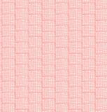Pescando o teste padrão sujo abstrato. Sem emenda dome o fundo chequered. Textura quadriculado decorativa de Rosa ilustração royalty free
