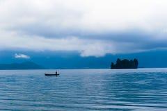 Pescando sulla mattina Immagini Stock Libere da Diritti