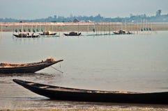 Pescando a Sunderban Fotografie Stock
