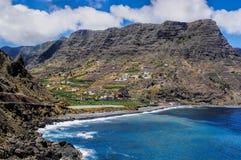 Pescante De Hermigua, île de Gomera de La, Espagne Photo stock