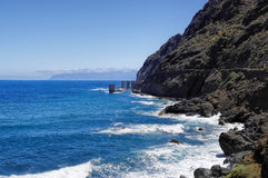 Pescante de Hermigua, La Gomera Island, Spain Stock Photo