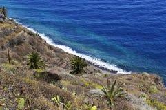 Pescante de Hermigua, losu angeles Gomera wyspa, Hiszpania Obraz Stock