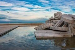 Pescara-Brunnen Stockfotografie