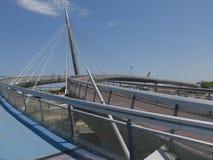 Pescara - havsbro Arkivfoto