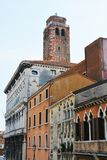 Pescaria de Canaregio building, Venice, Italy Royalty Free Stock Photos