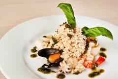 Pescatora d'alla de risotto Image stock