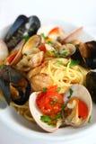 Pescatora van spaghettialla Royalty-vrije Stock Afbeeldingen