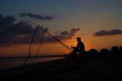 Pescatore fotografia stock libera da diritti