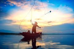 Pescatore Immagine Stock Libera da Diritti