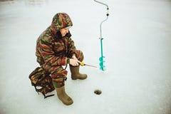 Pescatore. Immagine Stock Libera da Diritti